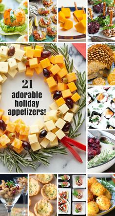 21 Adorable and Easy Holiday Appetizers ~ theviewfromgreati . 21 Adorable and Easy Holiday Appetizers ~ theviewfromgreati …, … New Years Appetizers, Christmas Appetizers, Appetizers For Party, Appetizer Recipes, Easy Thanksgiving Appetizers, Warm Appetizers, Holiday Treats, Holiday Recipes, Christmas Recipes