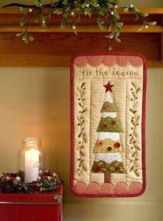 Árbol de Navidad: Fotos de diseños de patchwork (14/20)   Ellahoy