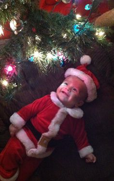 Christmas picture idea (this is my son) <3
