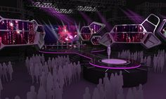 It& roadshow music stage design, for around Sumatra, Java, Sulawesi Indonesia Tv Set Design, Stage Set Design, Design Inspiration, Design Ideas, Java, Event Planning, Places To Visit, Around The Worlds, House Design