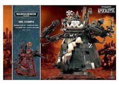 40K Miniatures 183473: Warhammer 40K Apocalypse Ork Stompa Brand New Shrink Wrap Free Ship -> BUY IT NOW ONLY: $97.95 on eBay!