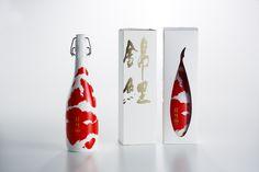 美しすぎる日本酒ボトル錦鯉世界3大広告賞を受賞