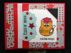 HOOray Graduate! card by Denise Speigle