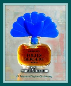 FRAGRANCE NAME : Folies Bergere PERFUME HOUSE : Folies Bergere, Paris PERFUMER : Undetermined BOTTLE DESIGNER : Undetermined LAUNCH DATE : 1943 (Bourjois) CONCENTRATION : Parfum TYPE : Feminine