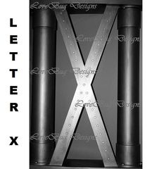 Alphabet Photography Letter X by LetterBug Designs on Etsy
