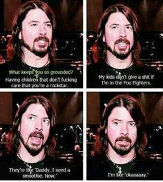 David Grohl: dad of the year, every year.