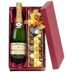 Make any occasion extra special with Personalised Champagne and Chocolates! The label of the champagne bottle is personalised with a name and message of your choice and comes with a delicious selection of chocolates! #Chocolate #Champagne #PersonalisedGifts  £59.99