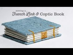 This is an update to my other French-link and Coptic stitch video. Instead of punching sewing stations into the covers for every sewing station in the signat...