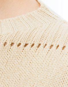Knitwear ISABEL MARANT ETOILE – MEDFORD sweater - ecru
