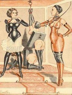 Carlo: ilustración de Le cuir triomphant, de Alan Mac Clyde (1934)