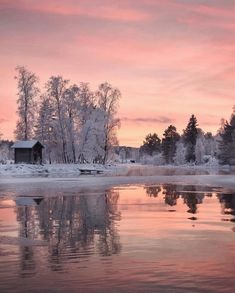 Find images and videos about winter, sunset and snow on We Heart It - the app to get lost in what you love. Scenery Photography, Winter Photography, Landscape Photography, Winter Szenen, Winter Magic, Winter Sunset, Winter Night, Winter Nails, Winter Season