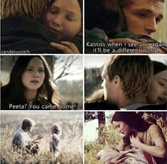 It'll be a different world *MOCKINGJAY SPOILERS* AH LOVED ALL OF THIS PEETA!!!!!!