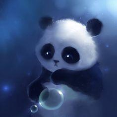 Pretty Backgrounds | Cute panda iPad wallpaper