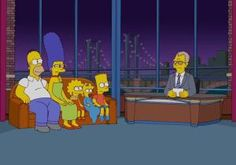 'The Simpsons' honors David Letterman with couch gag of retiring 'Late Show' host - NY Daily News / April 7th, 2014 http://www.nydailynews.com/entertainment/tv-movies/simpsons-honors-david-letterman-couch-gag-article-1.1748326