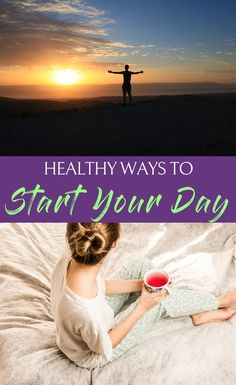 When you've found the best healthy ways to start your day you can turn them into routine habits making a healthy lifestyle natural each and every day. Healthy Living Tips, Healthy Tips, How To Stay Healthy, Healthy Habits, Fitness 24, Health And Fitness Tips, Fitness Nutrition, Wellness Tips, Health And Wellness