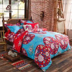 European Luxury Bedding Set Thick Sanding Cotton Bedlinen Diamond Embroidery Duvet Cover Set Hot Sale Designer Bedding Pure Whiteness Bedding Sets