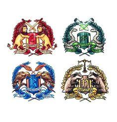 #hogwartshouses#gryffindor#hufflepuff#ravenclaw#slytherin#hogwarts#bravery#cunning#wisdom#friendship