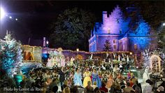 ANDRE RIEU FAN SITE THE HARMONY PARLOR: André Rieu's Castle Transformed Into a Christmas Palace