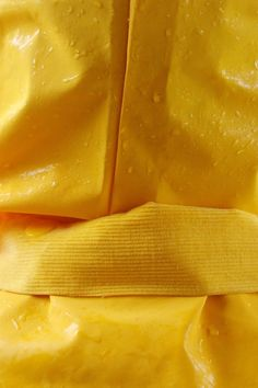 Yellow | Giallo | Jaune | Amarillo | Gul | Geel | Amarelo | イエロー | Colour | Texture | Style | Form | Raincoat by Cassidy Araiza