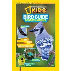 National Parks are home to several North American species, including dozens of feathered friends. National Geographic Kids Bird Guide of North America Presents For Kids, Gifts For Boys, Bird Watching Gifts, Bird Guides, National Geographic Kids, Field Guide, Bird Species, Nonfiction Books, Book Format