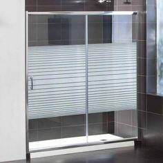 152€ Lateral de ducha SENAI II de 72,5 a 75 cm con cristal serigrafiado o transparente. Para combinar con los frontales de ducha SENSAI II serigrafiados o tranparentes.