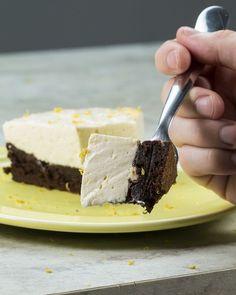 Torta gelada de brownie e limão. | 18 receitas do Tasty Demais para quem AMA fazer doces