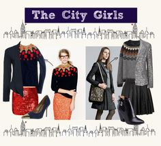 """The City Girl Style"" by lili-he on Polyvore"