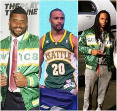 Seahawks players bringing the Sonics back to Seattle? Seahawks Players, Seahawks Fans, Seahawks Football, Football Baby, Seattle Sounders, Seattle Mariners, Seattle Seahawks, Seattle Mist, Mariners Baseball