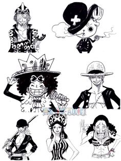 Cosplay Straw Hat Pirates crew Monkey D. Luffy, Tony Tony Chopper, Roronoa Zoro, Sanji, Brook, Usopp, Nami, Franky, Nico Robin One piece
