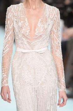 Elie Saab Couture Details, Spring 2012 - Elie Saab's Most Beautiful Runway Details of the Decade - Photos