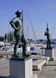 Balaton Budapest, Statues, Childhood Memories, Statue Of Liberty, Street Art, The Past, Sculptures, Tours, World
