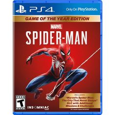 Swing through vibrant neighborhoods and catch breathtaking views of iconic Marvel and Manhattan landmarks. Marvel's Spider-Man - PlayStation Marvel's New York is Your Playground. Learn more about Marvel's Spider-Man. Lego Batman 3, Batman Arkham City, Spiderman Spider, Spider Man Ps4 Game, Spider Man Playstation 4, Games For Playstation 4, Mario Kart 8, Nintendo Ds, Scorpio