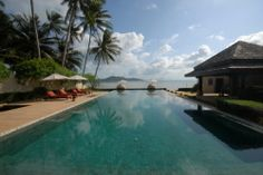 5 Bedroom Beach Front Villa with Private Pool at Thong Krut #KohSamui #Thailand http://www.samuiislandvillas.com/105-5-bed-sea-view-villa-pool-bophut-koh-samui/