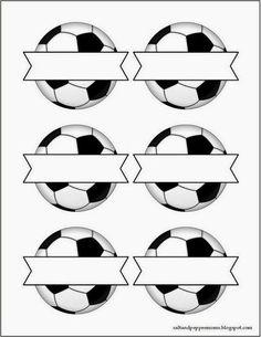 Kit para Fiestas de Futbol, para Imprimir gratis. | Ideas y material gratis para fiestas y celebraciones Oh My Fiesta!