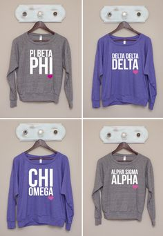 ❉❉ super sweet spotlight ❉❉ ready for fall ~ cute & comfy ❤heart❤ pullovers from THE GREEK SUPPLY!! http://www.thegreeksupply.com
