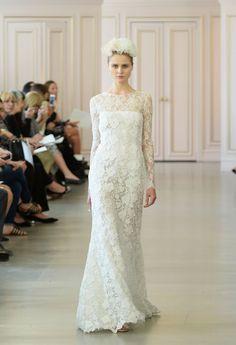 Pin for Later: Die schönsten Hochzeitskleider der Brautmodenschauen Frühjahr/Sommer 2016 Oscar de la Renta Frühjahr/Sommer 2016
