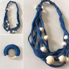 Collares sin cierre - Conjunto Lactancia Trapillo - hecho a mano por LittleMommy en DaWanda