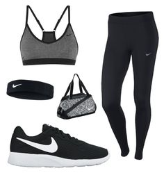 """Untitled #33"" by aydasaad on Polyvore featuring NIKE"