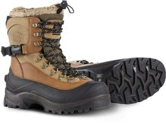 The Men's Sorel Conquest boots are designed to dominate cold, snowy conditions… Stylish Winter Boots, Best Winter Boots, Sorel Winter Boots, Winter Gear, Best Mens Snow Boots, Mens Winter, Buy Boots, Shoe Boots, Extreme Cold Weather Boots