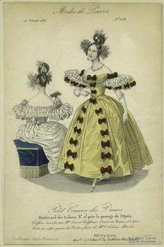 1830s fashion plate