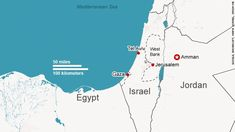 Map of the Middle East - The death toll continues to mount on both sides of the Gaza conflict... -  cnn.com
