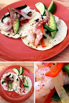 Shrimp Tacos with a Bee Sting Honey Finish This recipe is simple and quick; I love to serve these tacos as a DIY with a pile of warm tortillas.