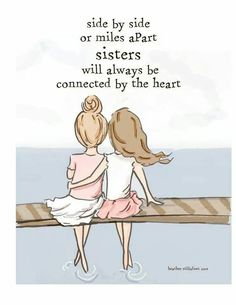 Sisterhood connected at the heart ~