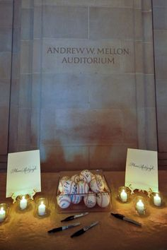 """Guest Book Idea: As a nod to this groom's love of baseball, guests were asked to """"autograph"""" baseballs!"""