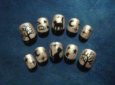night cats nails