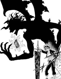 I'm so excited to see Asta in his demon form in the anime too! Manga Anime, Fanart Manga, Anime Naruto, Manga Art, Black Clover Asta, Black Clover Anime, Black Clover Wallpaper, Clover Tattoos, Black Cover