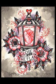 #drawing #tattoo #neotraditional (criação desconhecida)