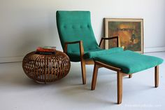 Milo baughman Lounge Chair and Ottoman for Thayer Coggin mid century lounge | Flickr - Photo Sharing!