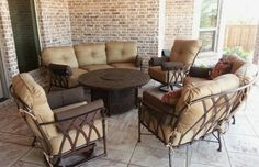 ... Art Patio Veranda Deep Seating Collection From Pride Family Brands    Castelle Enjoy Your Outdoor Room   Yard ...