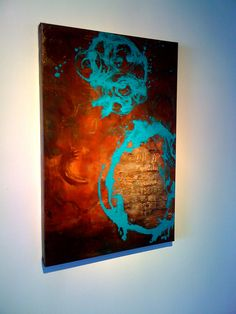 Abstract Art Painting by Gayla Myer